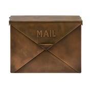 Benzara Mail Box, Brown (IMX-44090)