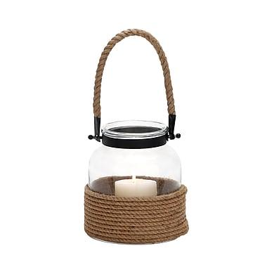 Benzara Metal Lantern, Brown (23824)