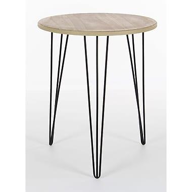 Benzara Accent Table, Black & Brown (BM118757)