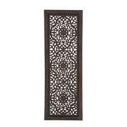 Benzara Wood Wall Panel, Brown (34125)