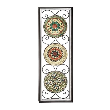 Benzara Wood Wall Panel, Multicolour (51054)