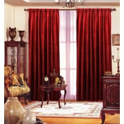 Benzara Velvet Panel, Red (MAF-100005)