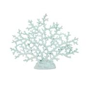 Benzara Teal Coral, Blue (IMX-53077)