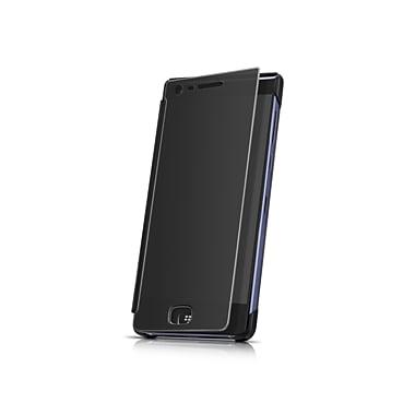 BlackBerry - Étui de type portefeuille Privacy Flip Wallet Case Motion, noir (PFD1003AALUS1)