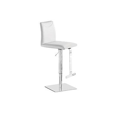 Casabianca Furniture Tito Italian White Leather Bar Stool (Tc-2010-Wh-Bar)