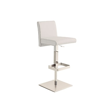 Casabianca Furniture Vittoria Italian Leather Bar Stool