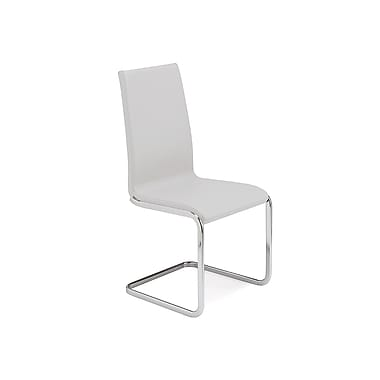 Casabianca Furniture Aurora Italian Leather Dining Chair