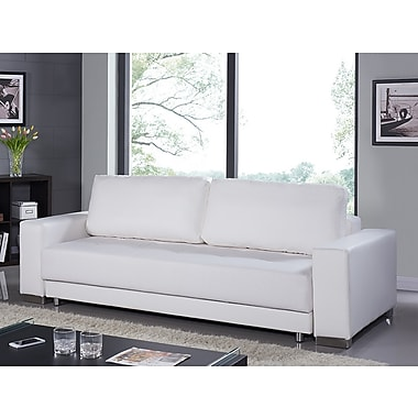 Casabianca Furniture Cloe Eco-Leather Sofa Bed