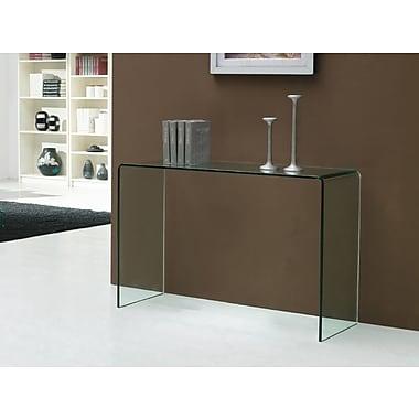 Casabianca Furniture Casetta Clear Console Table (Cb-0311-C)