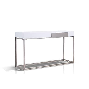 Casabianca Furniture Giga High Gloss Lacquer Console Table