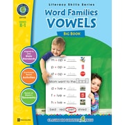 Classroom Complete Press Textbook Word Families Vowels Big Book, Grade PK-2 (CC1112)