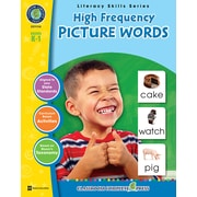 Classroom Complete Press Textbook High Frequency Picture Words, Grade PK-2 (CC1114)