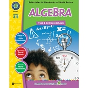 Classroom Complete Press Textbook Algebra Task & Drill Sheets, Grade 3-5 (CC3307)