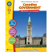 Classroom Complete Press Textbook Canadian Government, Grade 5-8 (CC5758)