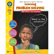 Classroom Complete Press Textbook 21st Century Skills Learning Problem Solving, Grade 3-8+ (CC5794)