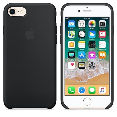 Apple Silicone Case For Use With iPhone 7/8, Black (MQGK2ZM/A)