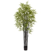 Nearly Natural Black Bamboo  Indoor Outdoor (5481)