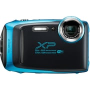 Fujifilm FinePix XP130 Waterproof Action Camera, Sky Blue (600019792)
