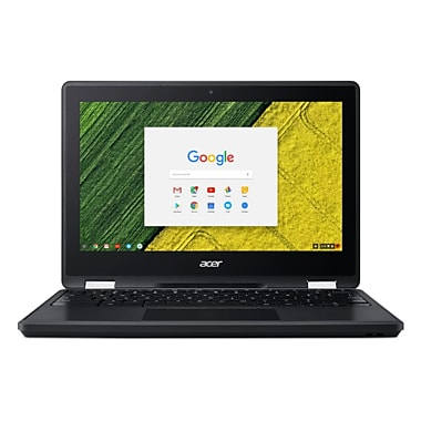 Acer - Chromebook Spin 11 transformable NX.GYAAA.001, 1,10 GHz Intel Celeron N3350, 4 Go DDR3 SDRAM, Chrome OS