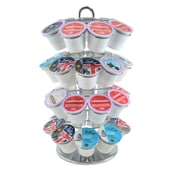 oneBREW K-Cup Pod Carousel, Chrome (68322)