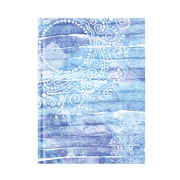 "Pierre Belvedere Large Notebook, Blue Mandala, 7"" X 9.5"" (7711670)"