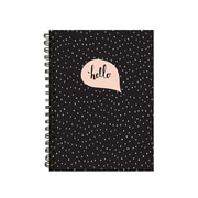 "Pierre Belvedere Medium Notebook, Pink Bubble, Wirebound, 6"" X 8.25"" (7711500)"