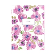 "Pierre Belvedere Large Notebook, Purple Flower, 7"" X 9.5"" (7711000)"
