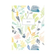 "Pierre Belvedere Large Notebook, Green & Blue, 7"" X 9.5"" (7711020)"