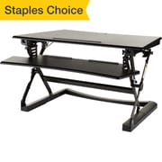 Staples Sit to Stand Adjustable Desk Riser, 35""