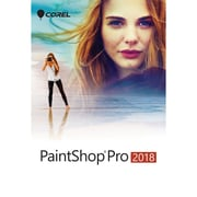 Corel – Logiciel de retouche photo Paintshop Pro 2018, mini boîte, Windows