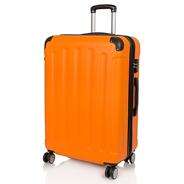 Rosetti Sunbeam Expandable Spinner Luggage, Orange