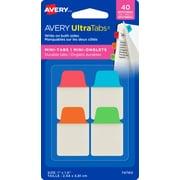 Avery® Ultra Mini Tabs, 40/Pack (74860)