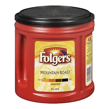 Folgers – Café moulu, grillé des montagnes, 975 g