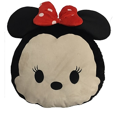 Disney Tsum Tsum Character Shape Pillow, Minnie (1007Chsh200)
