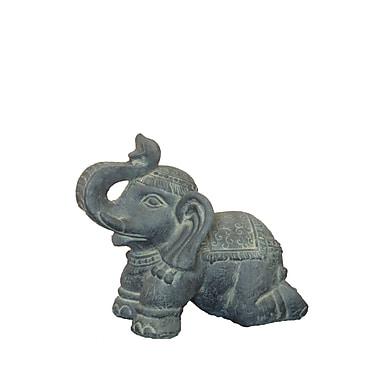 Hi-Line Gift Ltd. 76327, Elephant Kneeling Statue