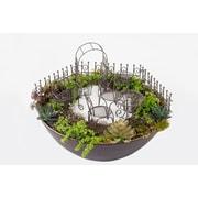 Hi-Line Gift Ltd. 72200-01-RS, Fairy 9 Piece Garden Furniture Set