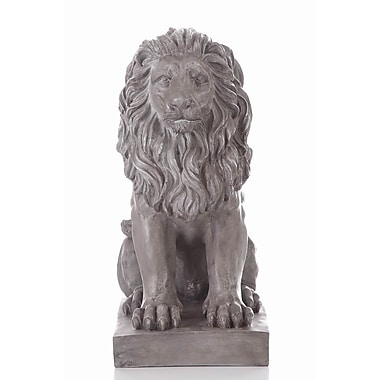 Hi-Line Gift Ltd. 77121, Sitting Lion Statue