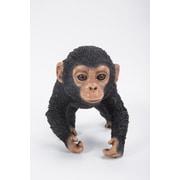 Hi-Line Gift Ltd. 87709-E, Running Chimpanzee Baby Statue