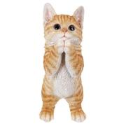 Hi-Line Gift Ltd. 87703-A, Playing Tabby Kitten Statue