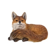 Hi-Line Gift Ltd. 87719-B, Fox Laying Down Statue