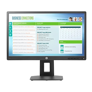 HP - Moniteur IPS ACL DEL M1T03AT 23 po anti-reflets, 1920 x 1080, 1000:1 statique/5 000 000:1 dynamique, 5 ms