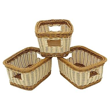 Cathay Importers 2-Tone Resin Storage Basket