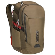 OGIO Ascent Backpack, Khaki Red