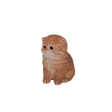 hi line gift ltd 87757 a persian cat statue staples