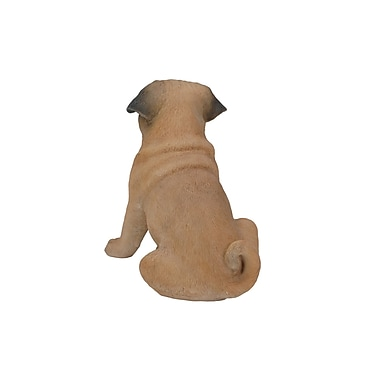 Hi-Line Gift Ltd. 87794, Sitting Dog Pug Statue