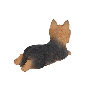 Hi-Line Gift Ltd. 87745, Yorkshire Terrier Dog Lying Down Statue