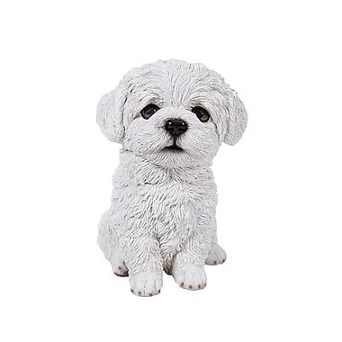 Hi-Line Gift Ltd. 87771-12, Maltese Puppy Statue