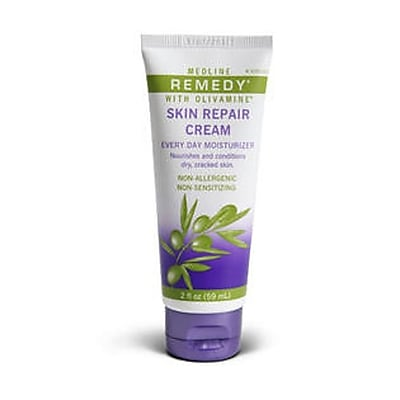 Remedy® Olivamine Skin Repair Creams, 4 oz, 12/Pack