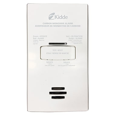Kidde 120V AC AC Plug-in Carbon Monoxide Alarm with Battery Backup (KN-COB-DP2CA)