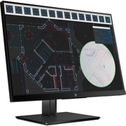 "HP Business Z24i G2 24"" LED LCD Monitor, 16:10, 5 ms GTG"